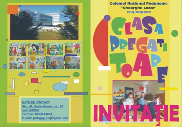 Înscriere clasa pregătitoare 2013
