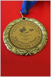 Medalie de aur Colegiu Gheorghe Lazăr
